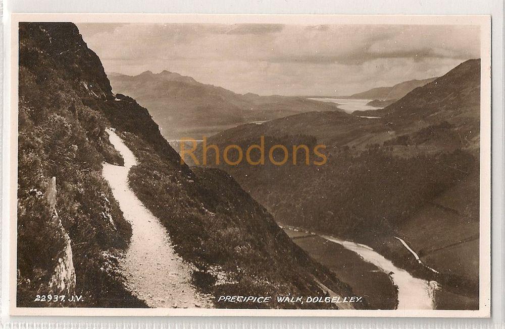 UK: Wales. Precipice Walk, Dolgelley. Valentines RP Postcard