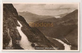 UK: Wales. Precipice Walk, Dolgelley. Valentines RP Postcard