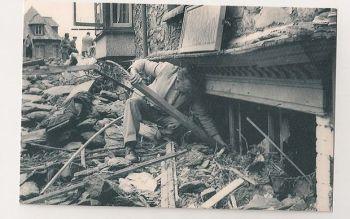 Devon: Lynmouth Flooding, August 1952. Nostalgia Reproduction Postcard