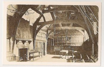 Leicester: Guildhall Circa 1904. Nostalgia Reproduction Postcard