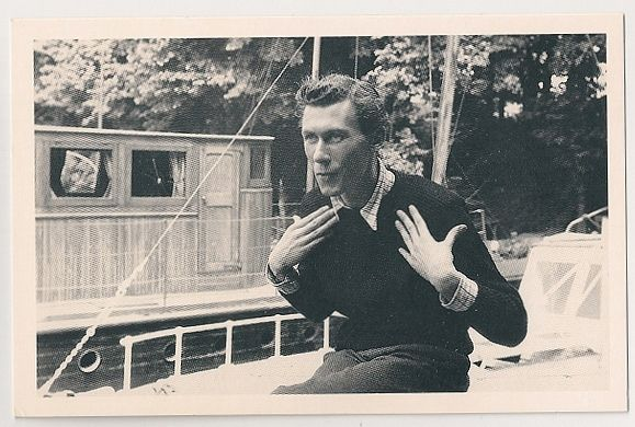 John Osborne, 1956. Nostalgia Reproduction Postcard