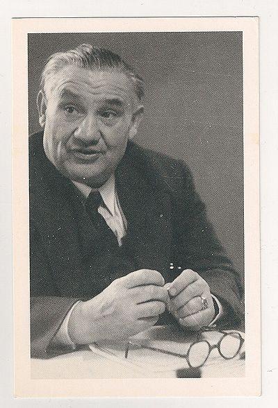 Ernest Bevan (1881-1951), British Politician. Nostalgia Reproduction Postcard