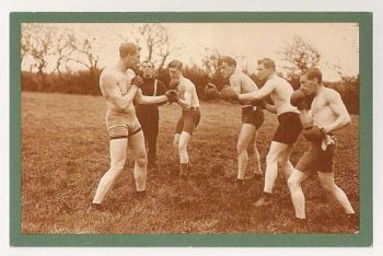Bombadier Wells Training At Selsey, 1913. Nostalgia Reproduction Postcard