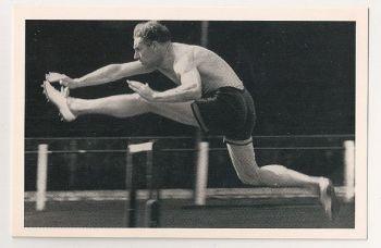 D O Finlay, Sportsman (1909-1970). Nostalgia Reproduction Postcard