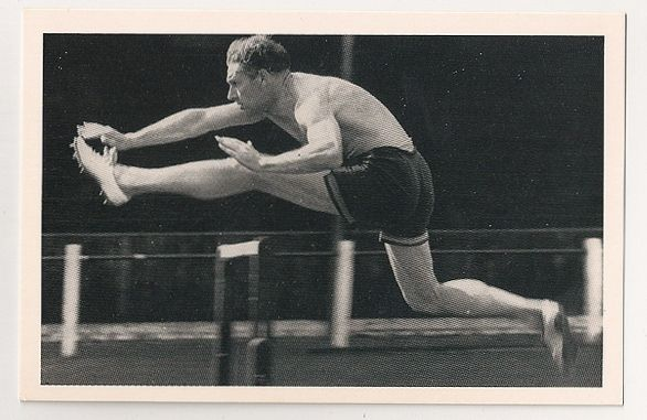 D O Finlay, Sportsman (1909-1970). Nostalgia Reproduction Postcard