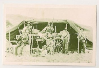 Boer War 1880-1902: Boer Soldiers. Nostalgia Reproduction Postcard