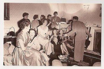 Ted Heath, 1954. Nostalgia Reproduction Postcard