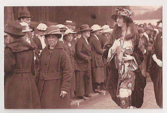 Victoria Sackville-West, 1919. Nostalgia Reproduction Postcard