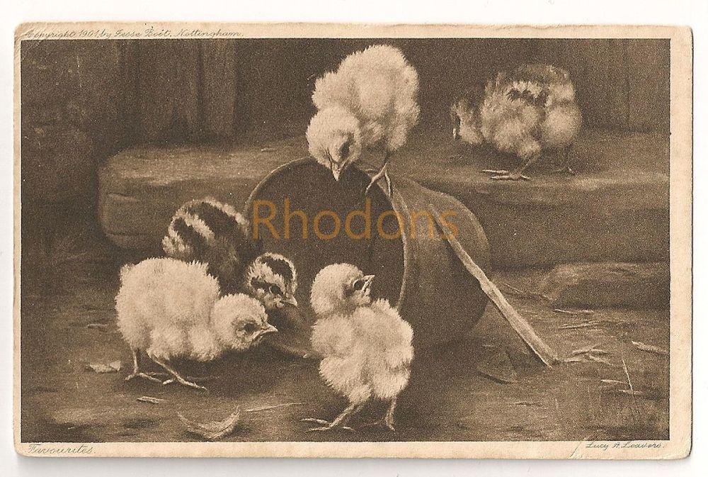 Family History Postcard:  Stephenson - Gawthorpe, Yorks - 1908 | Art Postcard By Lucy Ann Leavers