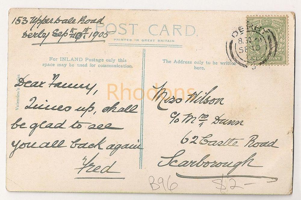 Family History Postcard: Wilson / Dunn - Scarborough - 1905