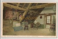 USA: Massachusetts. The Attic To The House Of The Seven Gables, Salem, MA. Early 1900s Postcard