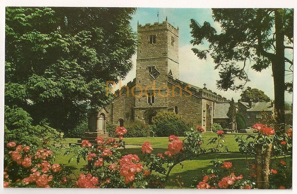 England: Cumbria. St Marys Church Kirkby Lonsdale Circa 1960s Postcard