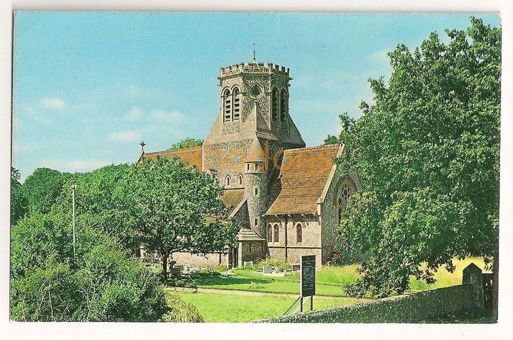 England: Norfolk. New Church Of St Margarets, Hopton on Sea. Colour Postcard