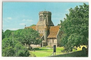 England: Norfolk. New Church Of St Margarets, Hopton on Sea. Colour Postcard