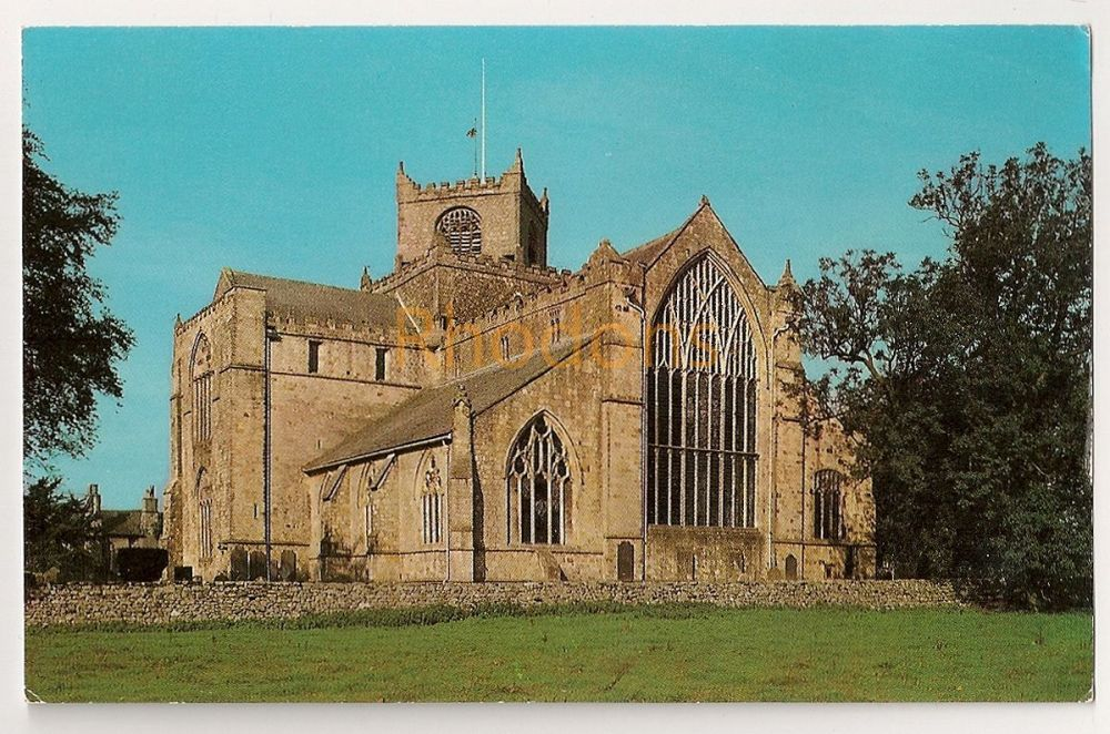 England: Lancashire. Cartmel Priory Grange Over Sands. Colour Photo Postcard