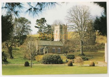 England: Devon. Cockington Church, Torquay. Colour Photo Picture Postcard