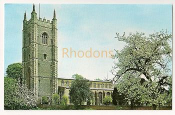England: Essex. St Marys Church, Dedham, Built 1492. Colour Photo Postcard
