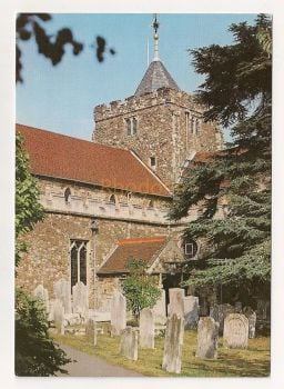 England: Sussex. Church Of St Mary The Virgin, Rye. Colour Photo Postcard
