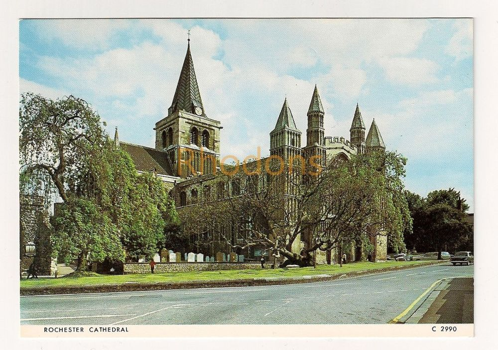 England: Kent. Rochester Cathedral Colour Photo Postcard