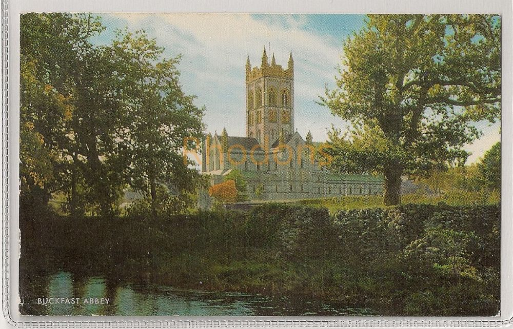 England: Devon. Buckfast Abbey. 1960s Colour Photo Postcard