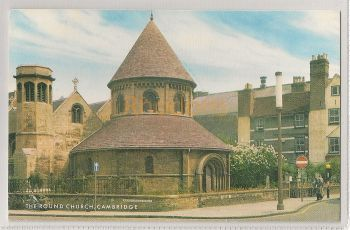England: Cambridgeshire. The Round Church Cambridge Colour Postcard View