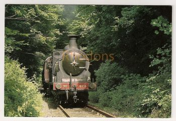 Scotland: North British Railway Steam Locomotive No 673 'Maude'. Colour Photo Postcard