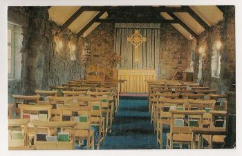 Scotland: Wester Ross. Episcopal Church Of St Maelrubha, Poolewe Colour Photo Postcard
