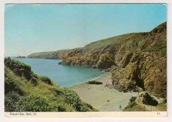 Channel Islands: Sark. Dixcart Bay, Colour Photo Postcard