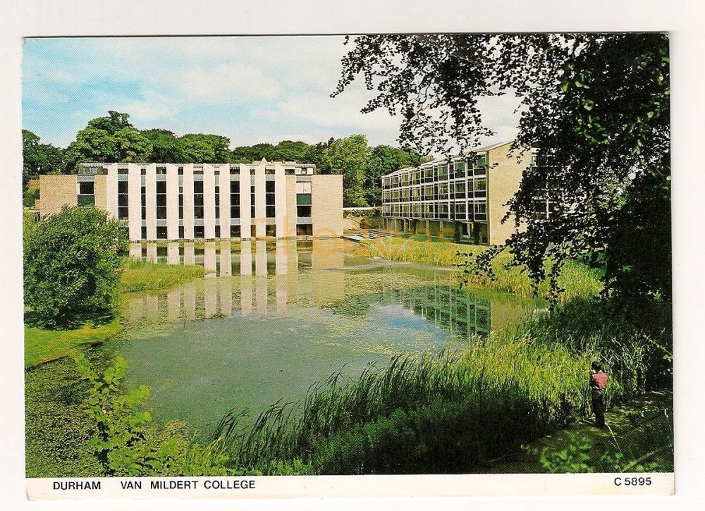 England: Durham. Van Mildert College Colour Photo Postcard