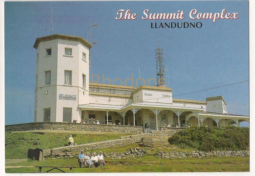 The Summit Complex Great Orme Llandudno Wales, Colour Photo Postcard