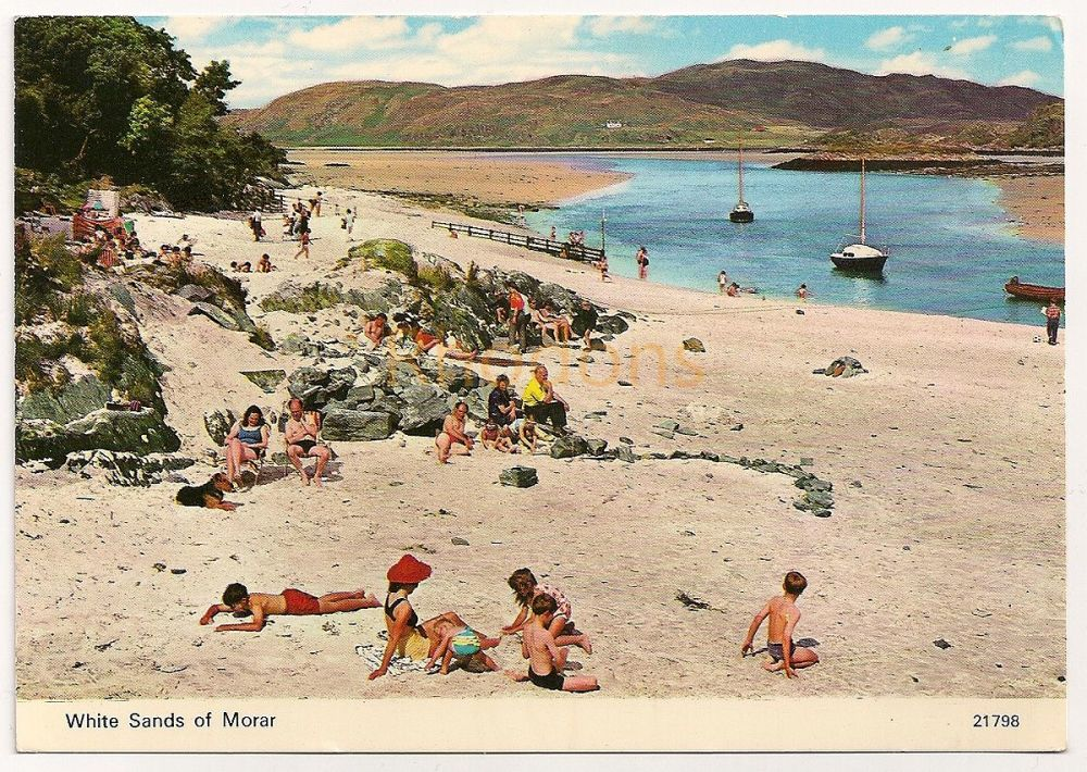 Scotland: Western Highlands. White Sands At Morar. Colour Photo Postcard