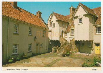 Scotland: Edinburgh. White Horse Close, Colour Photo Postcard