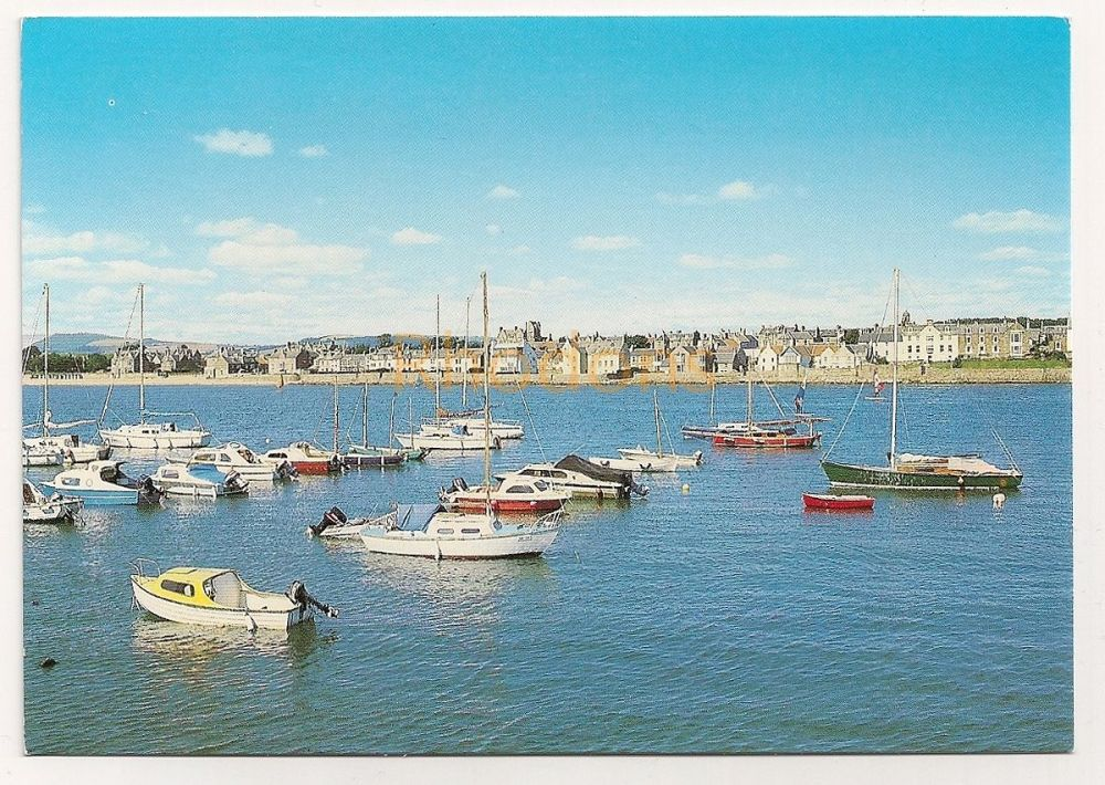 Scotland: Fife. Elie Bay Colour Photo Postcard