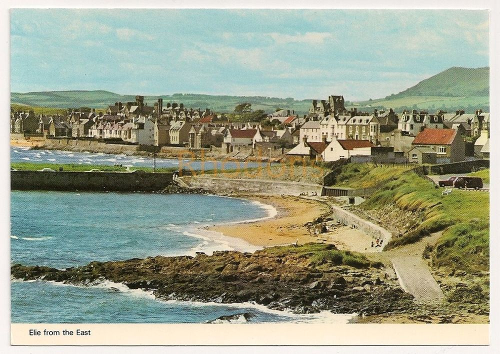 Scotland: Fife. Elie Bay From The East. Colour Photo Postcard