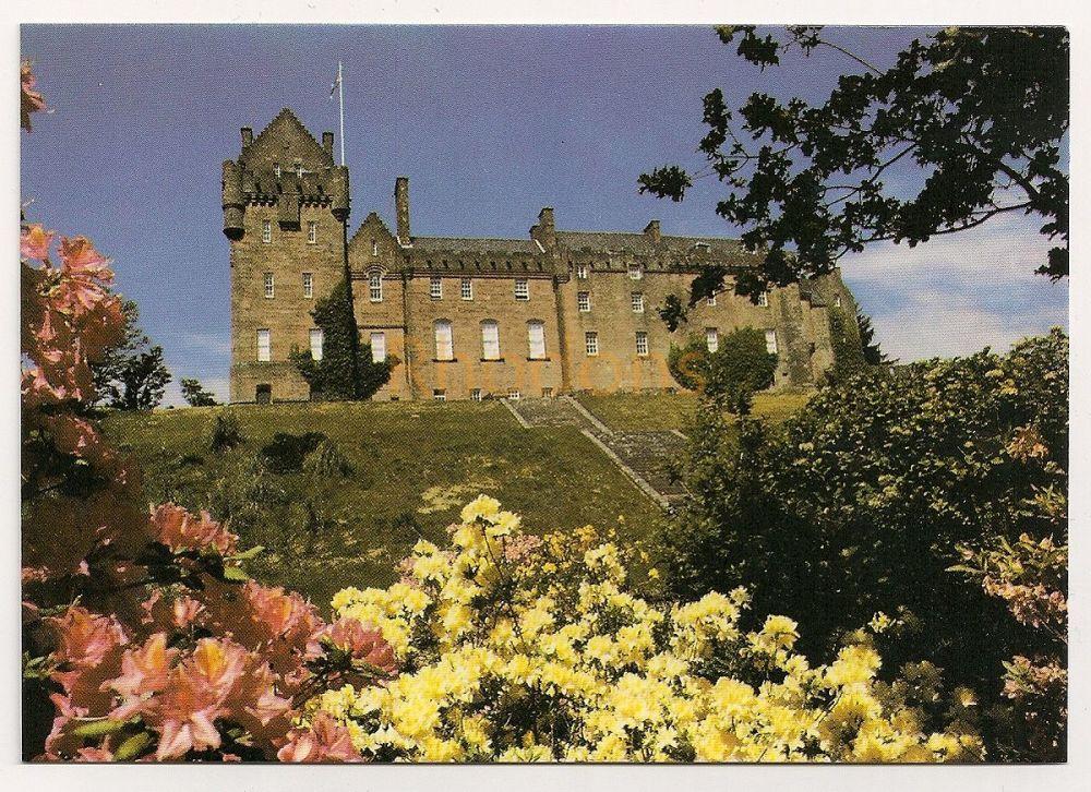 Scotland: Isle of Arran. Brodick Castle, Colour Photo Postcard
