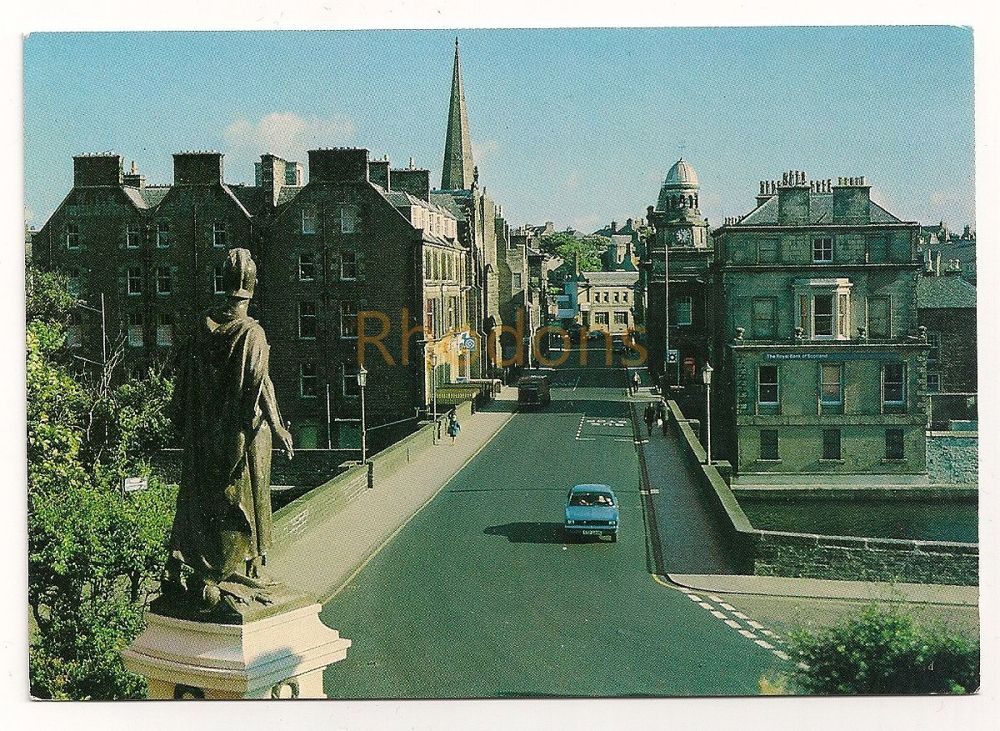 Scotland: Caithness. Bridge Street, Wick, Colour Photo Postcard