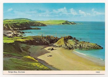 Scotland: Caithness, Sutherland, Highlands. Sango Bay, Durness. Colour Photo Postcard