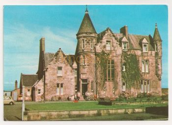 Scotland: Ayrshire. Scottish Youth Hostel Association, Craigwell Road, Ayr, Colour Photo Postcard