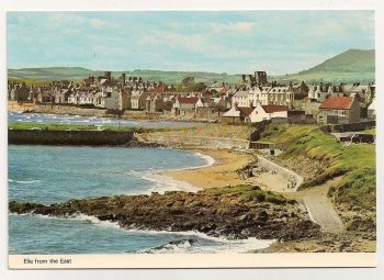 Scotland: Fife. Elie Bay From The East. Colour Photo Postcard (Used)
