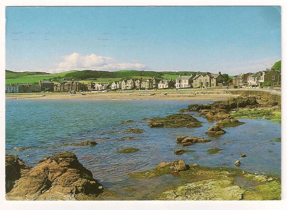 Scotland: Ayrshire. Kames Bay, Millport, Isle Of Cumbrae, Colour Photo Postcard