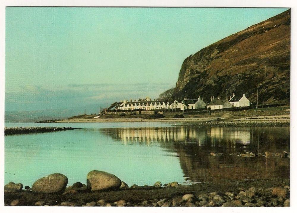 Scotland: Isle Of Arran. The 12 Apostles, Catacol, Colour Photo Postcard
