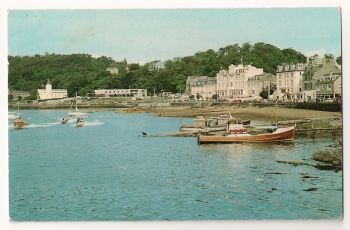 Scotland: Argyll & Bute. The Esplanade, Oban, Colour Photo Postcard