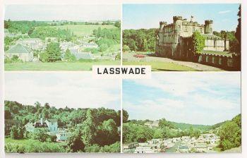 Scotland: Midlothian. Lasswade Multiview Postcard