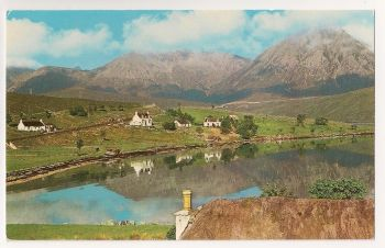 Scotland: Highlands & Islands. Loch Ainort And The Red Hills, Isle Of Skye. Colour Photo Postcard