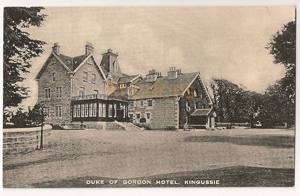 Scotland: Inverness-shire. Duke Of Gordon Hotel, Kingussie, Early 1900s Postcard