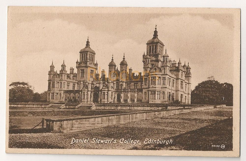 Scotland: Edinburgh,Midlothian. Daniel Stewarts College, Early 1900s Postcard