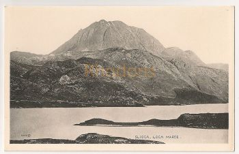 Scotland: Highlands. Sloch, Loch Maree, Early 1900s Postcard