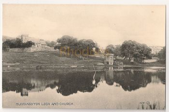 Scotland: Midlothian, Edinburgh. Duddingston Loch And Church, Early 1900s Postcard
