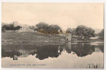 Scotland: Midlothian, Edinburgh. Duddingston Loch And Church, Early 1900s Postcard