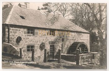 Scotland: Borders, Peebleshire. The Old Mill Tea Rooms, Blyth Bridge Photo Postcard